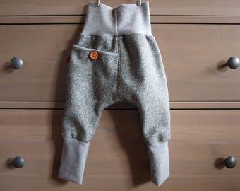 """Wool trousers """"Ole"""", new wool, Tweed"""