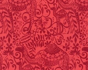 Jasmine by Valori Wells for Robert Kaufman - Ruby Camel - Cotton Woven Fabric