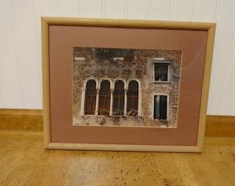 Photo, Photo Art, Framed Photo, Photography, Framed Photography, Wall Art, Wall Decor, Color Photo, Framed Color Photo, Venice Art, Venice