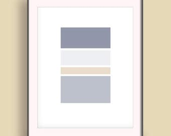 Affiche scandinave etsy for Art minimaliste citation