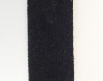 "1"" Black Leather Strip"