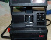 1981 Polaroid Model 640 Instant Camera, Works Fine
