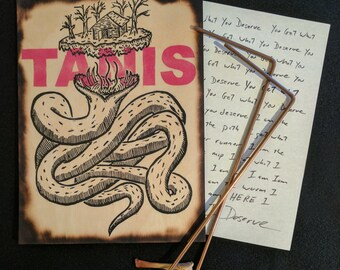 Eld Fen - Hand Carved TANIS Podcast King Wurm Creature Panel