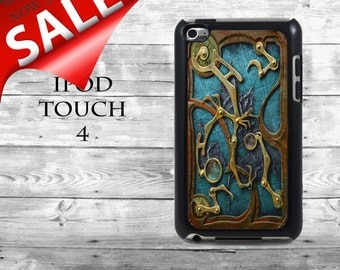 Steam punk book cover - SALE iPod Touch 4G case - amazing book cover phone iPod Touch case,  iPod cover