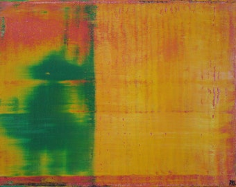 "6""x8"" Original Acrylic Abstract Painting"