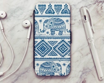 Elephant iPhone 6 Wallet Case, Elephant iPhone 6s Wallet Case, Elephant iPhone 5s Wallet Case, iPhone 7 Wallet Case, iPhone SE Wallet Case