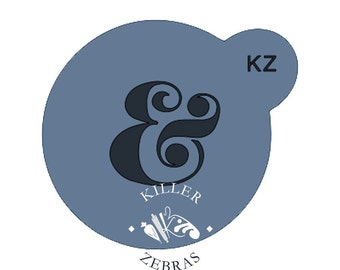 Fast Shipping!!! Ampersand Stencil