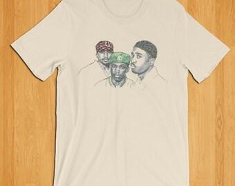 A Tribe Called Quest T-Shirt, Q-tip, Phife Dawg, Hip Hop T-Shirt, Music T-shirt, Old School Hip Hop, 90's Shirt, 80's Shirt, Classic Rap