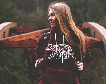 Spirit of the PNW Hoodie - Available in 2 Colors - Capture the wild nature of the Pacific Northwest