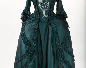 18th century dress - dress MAILLY - dress in French