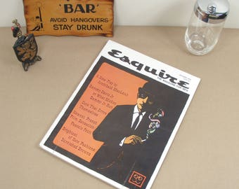 Vintage Esquire The Magazine for Men - October 1959 - Sammy Davis Jr Cars That Drive Themselves