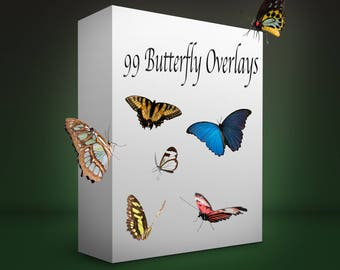 99 Butterfly PNG files
