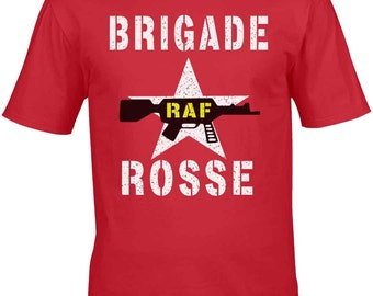 As Worn By Joe Strummer Of The Clash T-Shirt Homage - Brigade Rosse 100% Unofficial