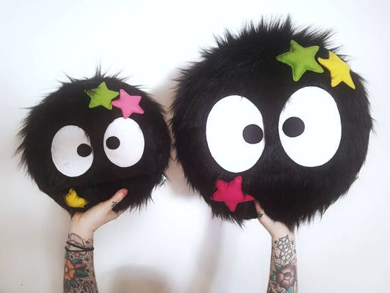 Studio Ghibli - SUPER SIZED Soot Sprite - Plush Pillow Toy