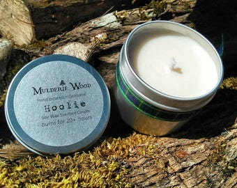 Hooley Bergamot and Tea Tree Essential Oil Natural Soy Wax Energising Aromatherapy Candle