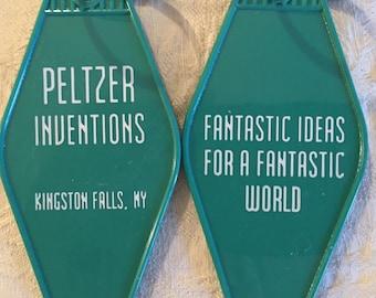 Gremlins inspired keytag Peltzer inventions
