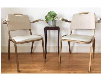 Pair Of Hollywood Regency Chairs