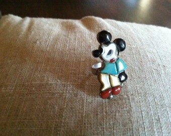 Disney Zuni Mickey Mouse RING Sterling Turquoise Onyx MOP Coral