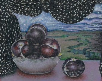 Plums from a Dark Valley