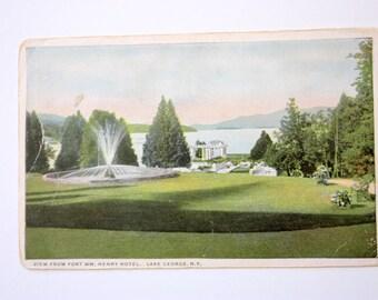 Lake George New York Postcard  / Santway Company Postcard /