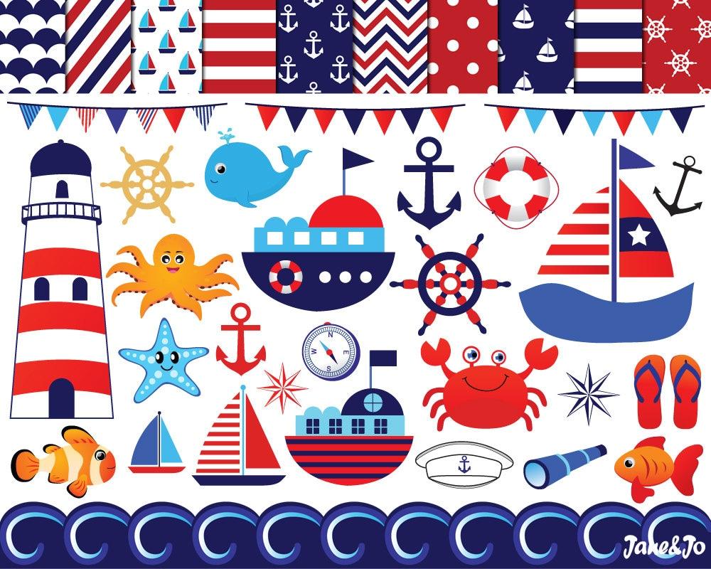 Nautical Clipart , Nautical Clipart , Anchor Clip art ...