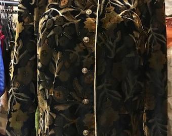 1980' Barucci velvet jacket. Size M.