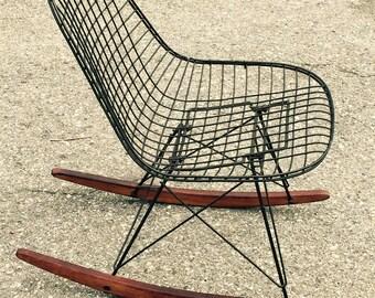 EAMES herman miller 1940s-50 rocking chair original very rare!!