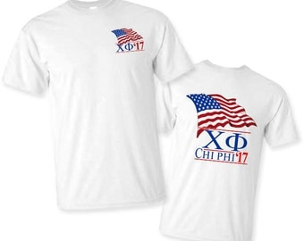 Chi Phi Patriot Limited Edition Tee