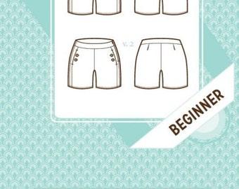 Colette patterns 1022 Iris shorts