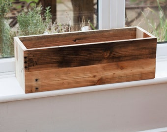 Wooden Box - Garden Planter - Window Box