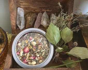 Witchy Moons Loose Tea Blend (Anti Anxiety)