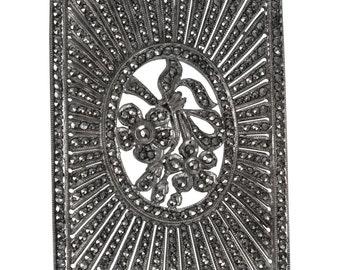 Antique Marcasite Brooch Circa 1925