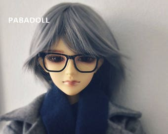 Handsome Square Glasses for Bjd 1/4 msd,1/3 SD17 Uncle Doll Clothes