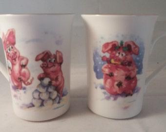 Piggin Snowball Mugs