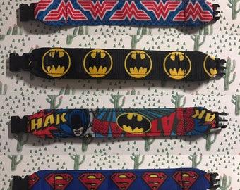 Kids ID bracelet, superhero ID Bracelets, kid bracelet, name info,