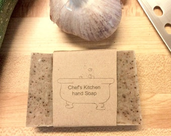 Chef's Kitchen Hand Soap - All Natural Hand Made Cold Processed Soap