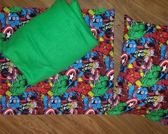 Nap Mat Cover, Blanket & Pillowcase