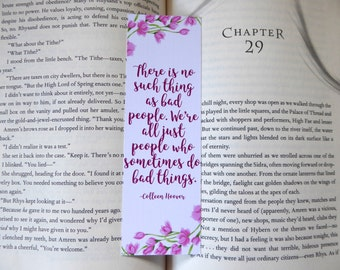 There is no Such Thing as Bad People Bookmark