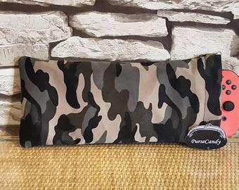 CAMO - Army, camouflage Nintendo Switch protective pouch / protective case