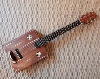 Box 6-string acoustic guitar
