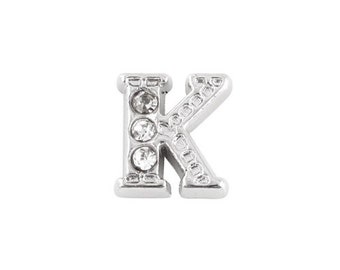 Alphabet Letter Initial K Floating Charms