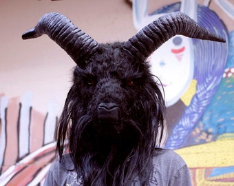 Baphomet goat head wearable