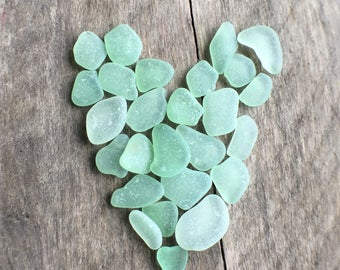 Mint Green Sea Glass