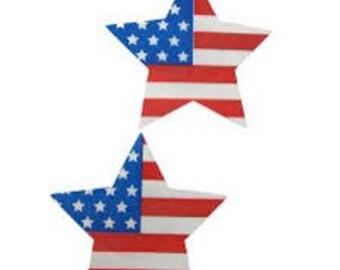 American Flag Pasties