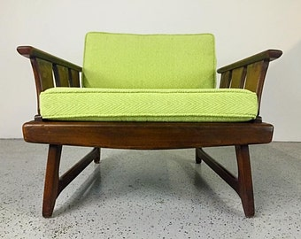 Adrian Pearsall Style Mid Century Modern Lounge Chair