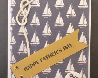 Nautical Father's Day Card 2633