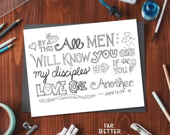 Bible Verse Coloring Page Philippians 4 13 Printable
