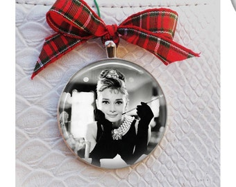 Breakfast at Tiffany's Christmas Ornament - Audrey Hepburn Ornament