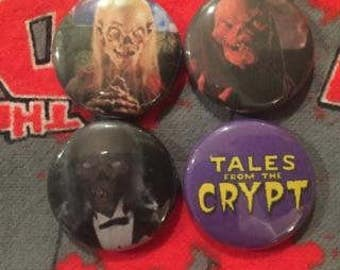 Tales from the Crypt Pins Set of 4