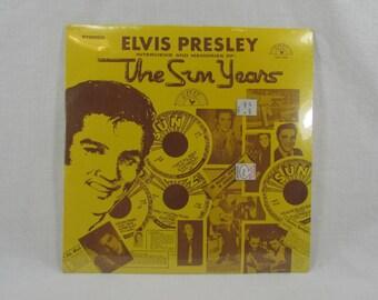 Elvis Presley The Sun Years Vinyl LP Sun 1001 Mint Condition Unopened